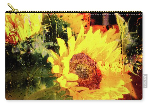 Carry-all Pouch featuring the photograph Sunny With Showers by Michael Hope
