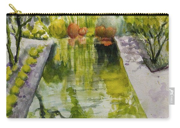 Infinity Pool In The Gardens At Annenburg Estate Carry-all Pouch