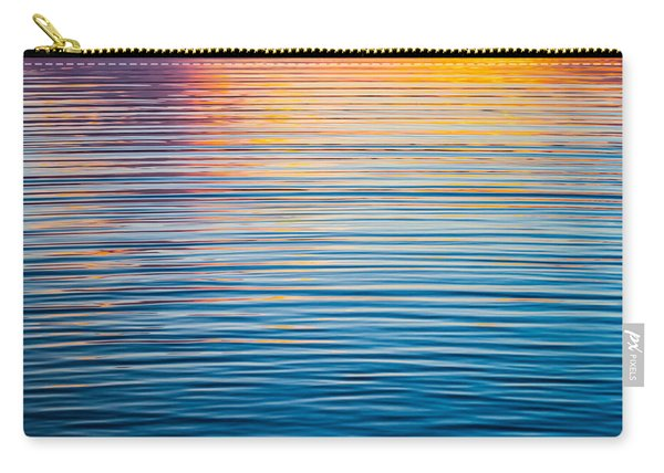 Sunrise Abstract On Calm Waters Carry-all Pouch