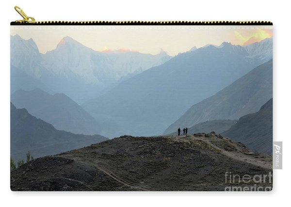Sunrise Among The Karakoram Mountains In Hunza Valley Pakistan Carry-all Pouch