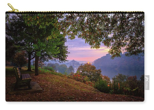 Sunrise At River Rd  Carry-all Pouch