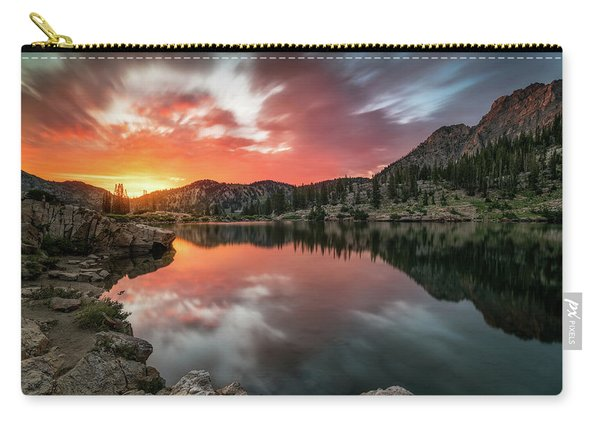 Sunrise At Cecret Lake Carry-all Pouch
