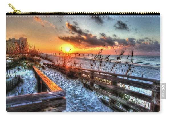 Sunrise At Cotton Bayou  Carry-all Pouch