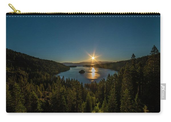 Sunrise At Emerald Bay Carry-all Pouch