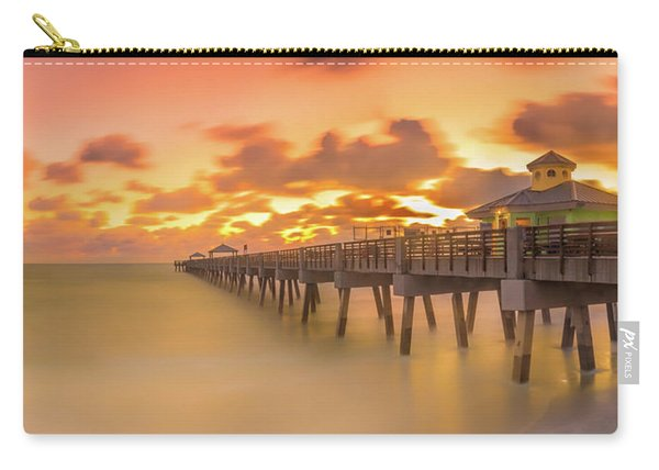Sunrise At Juno Beach Carry-all Pouch