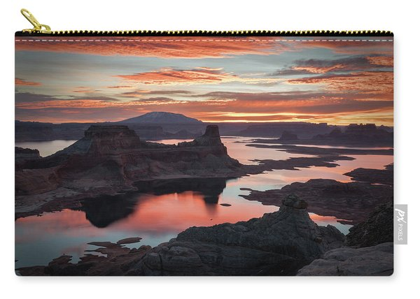 Sunrise At Lake Powell Carry-all Pouch