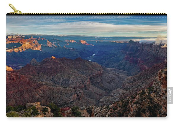 Sunrise At Navajo Point Carry-all Pouch