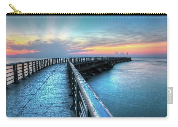Sunrise At Sebastian Inlet Carry-all Pouch