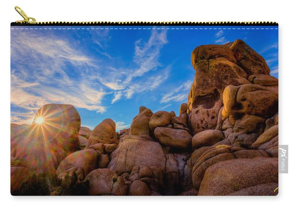 Sunrise At Skull Rock Carry-all Pouch