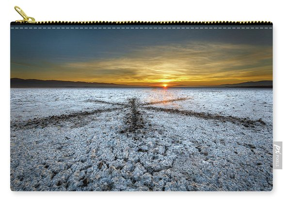 Sunrise At Soda Lake Carry-all Pouch