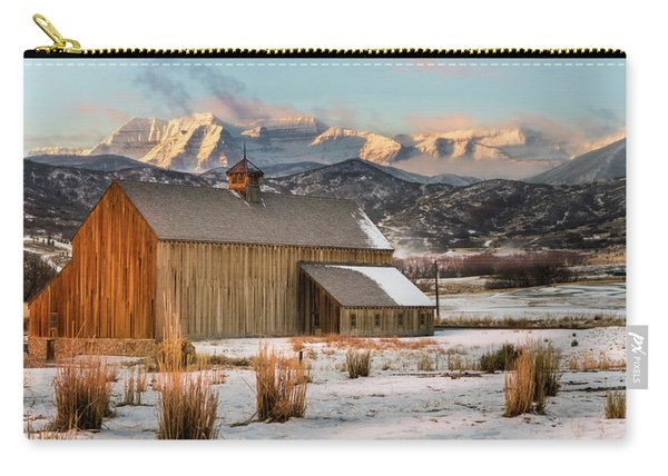 Sunrise At Tate Barn Carry-all Pouch