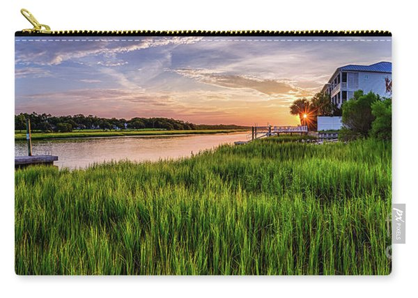 Sunrise At The Boat Ramp Carry-all Pouch