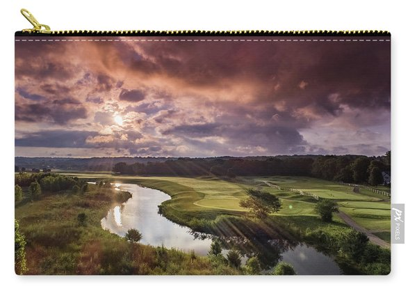 Sunrise At The Course Carry-all Pouch