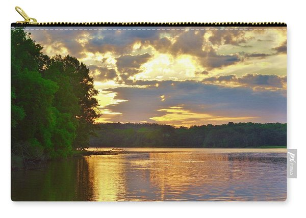 Sunrise At The Landing Carry-all Pouch