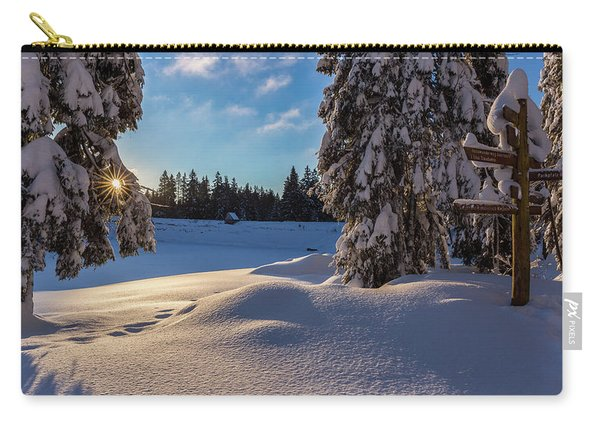 sunrise at the Oderteich, Harz Carry-all Pouch