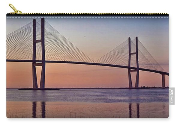 Sunrise At The Sidney Lanier Bridge Carry-all Pouch