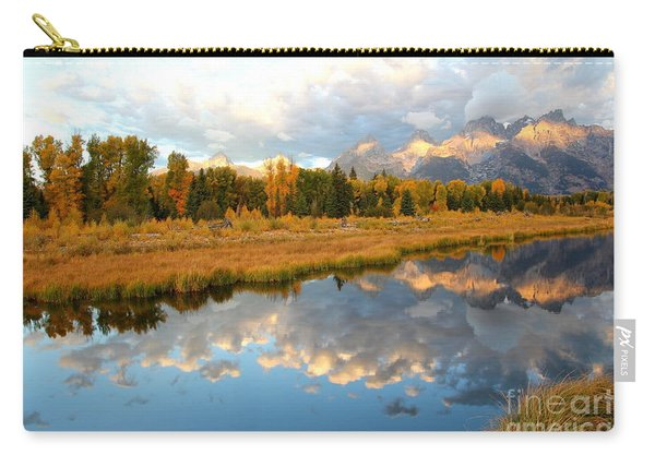 Sunrise On The Grand Tetons Carry-all Pouch