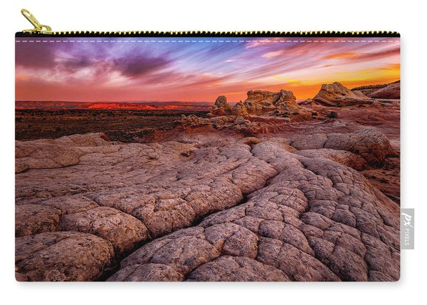 Sunrise At White Pockets Carry-all Pouch