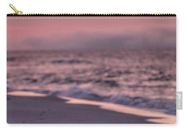 Sunrise Beach And Bird Carry-all Pouch