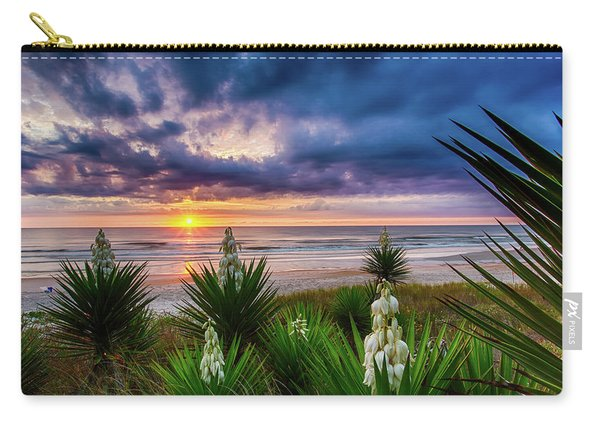 Sunrise Blooms Carry-all Pouch
