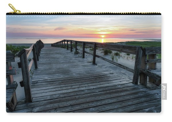 Sunrise Boardwalk, Cranes Beach Carry-all Pouch