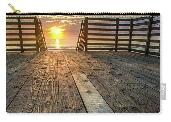 Sunrise Boardwalk Carry-all Pouch
