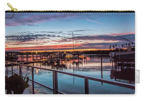 Sunrise Christmas Morning Carry-all Pouch