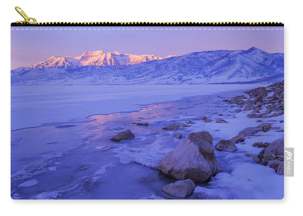 Sunrise Ice Reflection Carry-all Pouch