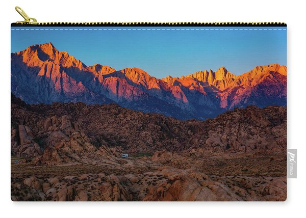 Sunrise Illuminating The Sierra Carry-all Pouch