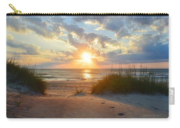 Sunrise In South Nags Head Carry-all Pouch