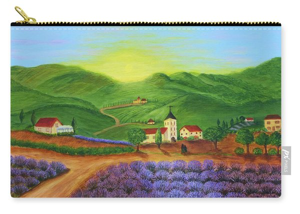 Sunrise In Tuscany Carry-all Pouch