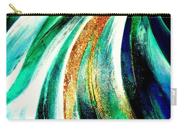 Sunrise In Water Fall Carry-all Pouch