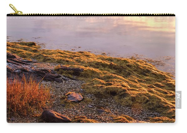 Carry-all Pouch featuring the photograph Sunrise Light by Tom Singleton