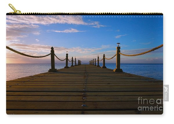 Sunrise Morning Bliss Pier 140a Carry-all Pouch