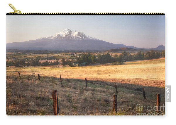 Sunrise Mount Shasta Carry-all Pouch