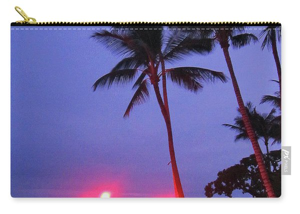 Sunrise Ocean Pathway Carry-all Pouch