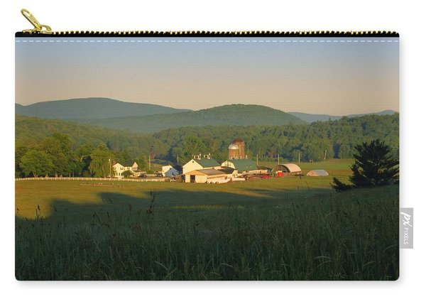 Sunrise On J J F In East Jewett Carry-all Pouch