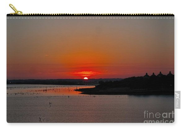 Sunrise On Lake Ray Hubbard Carry-all Pouch