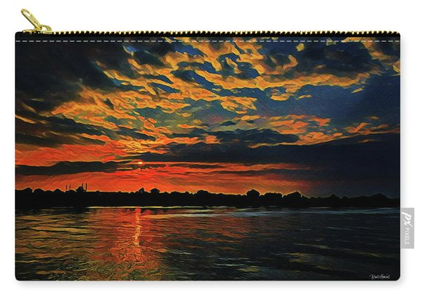 Sunrise On The Blue Danube Carry-all Pouch