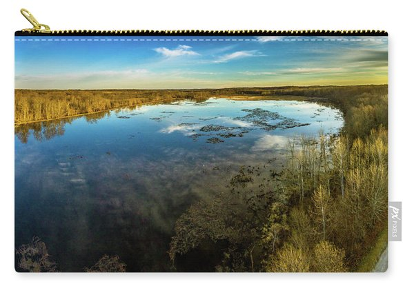 Sunrise On The Lake Carry-all Pouch
