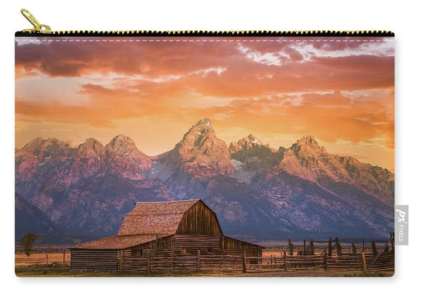 Sunrise On The Ranch Carry-all Pouch