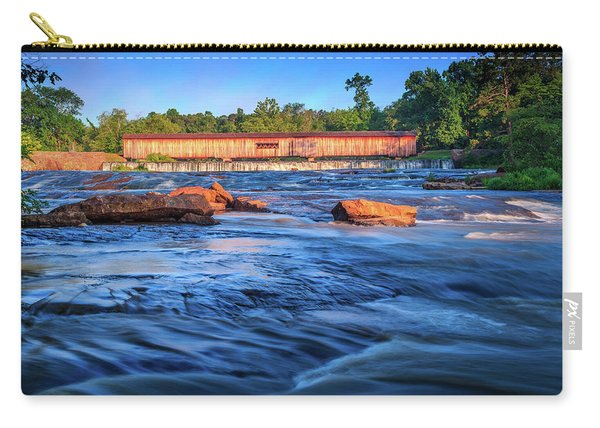 Sunrise On Watson Mill Bridge Carry-all Pouch