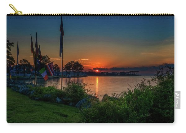 Sunrise On The Neuse 3 Carry-all Pouch