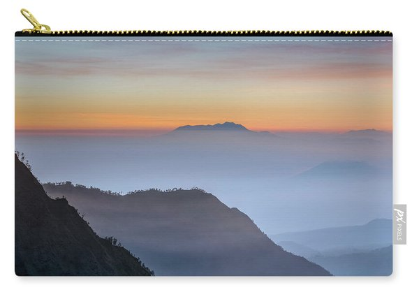 Sunrise Over Bromo National Park - Java Carry-all Pouch