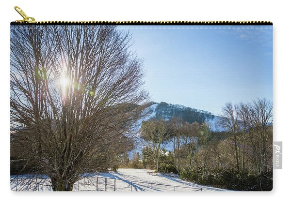 Sunrise Over Cataloochee Ski Carry-all Pouch