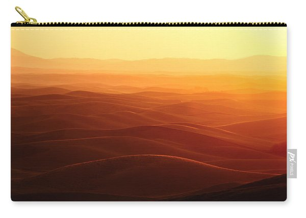 Sunrise Over Palouse Carry-all Pouch