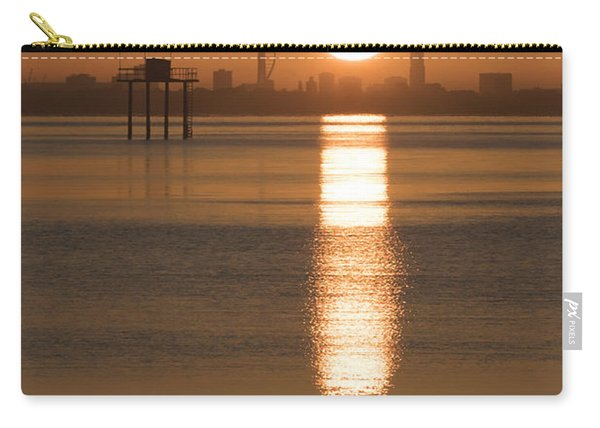 Sunrise Over Portsmouth Carry-all Pouch