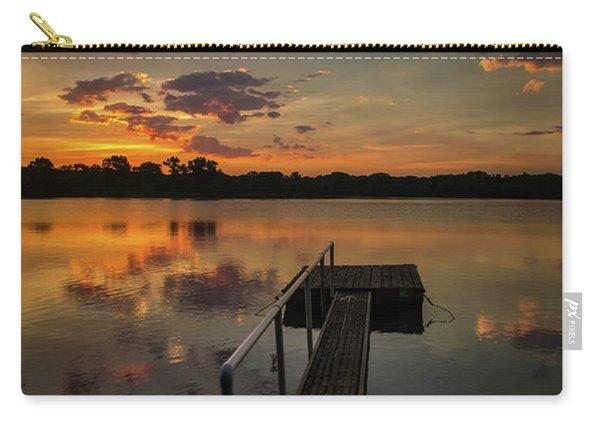 Sunrise Over Stuber's Dock V Carry-all Pouch