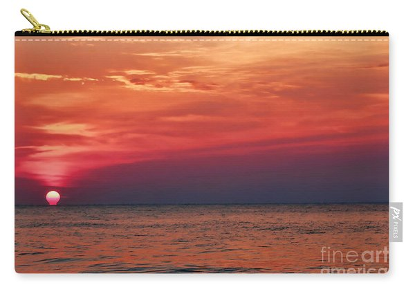 Sunrise Over The Horizon On Myrtle Beach Carry-all Pouch