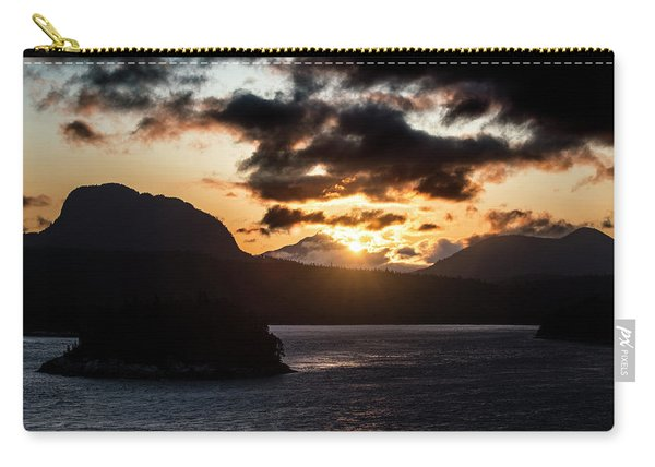 Sunrise Over The Inland Passage Carry-all Pouch